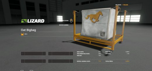 Horse Food Placeable v 1.0.0.4