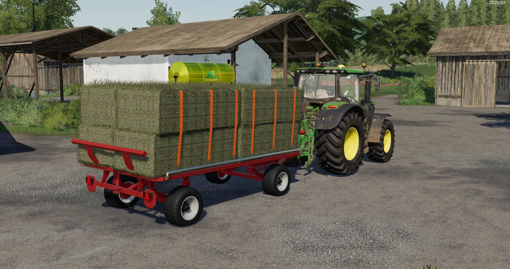 Krone Emsland Ballen Wagon v 1.0