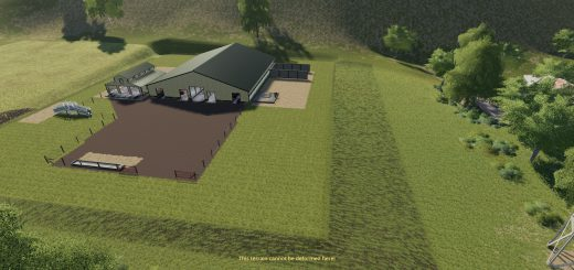 Large American Cow Shed v 1.0
