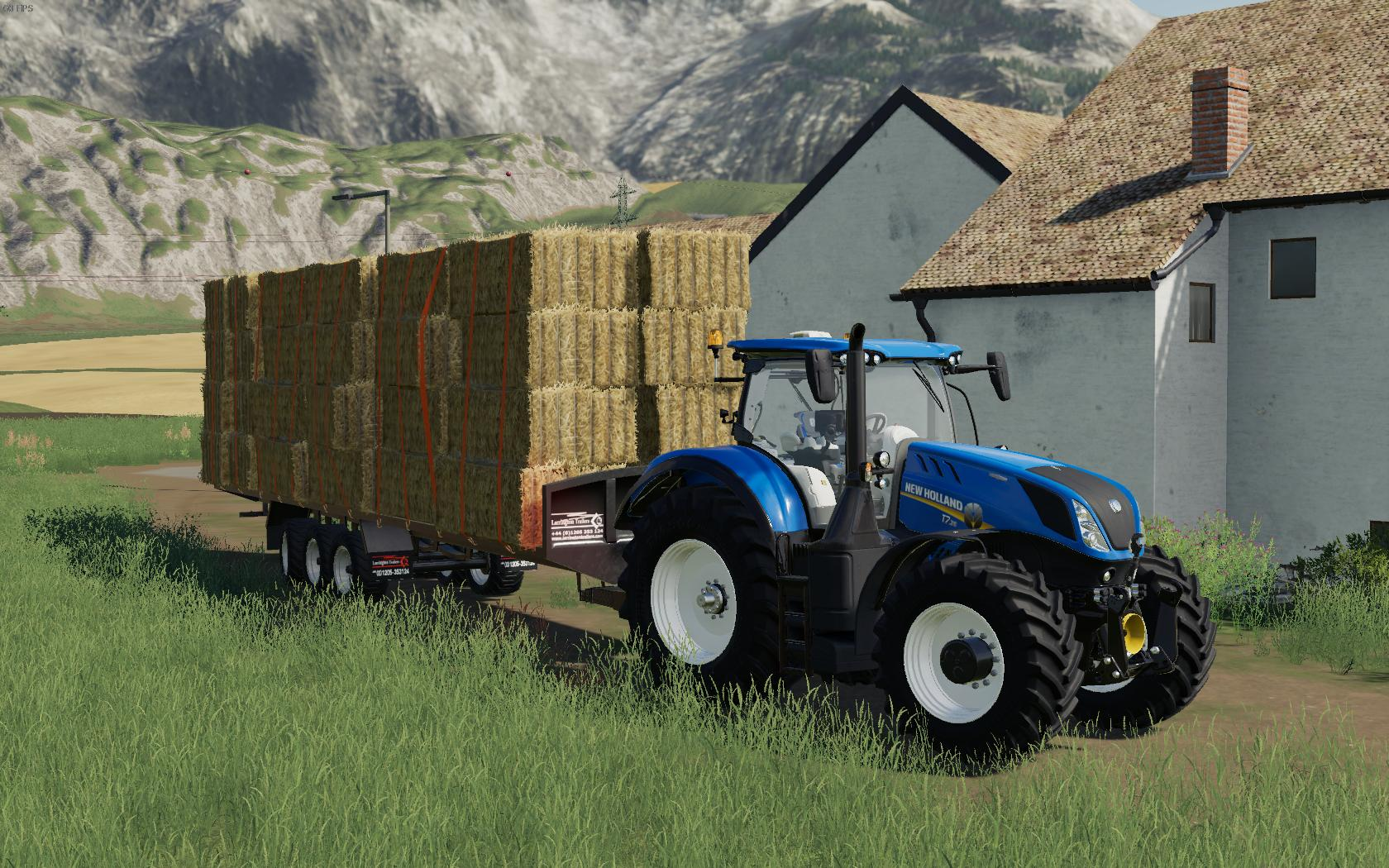 Larrington 42 Foot Bale Trailer v 1.0
