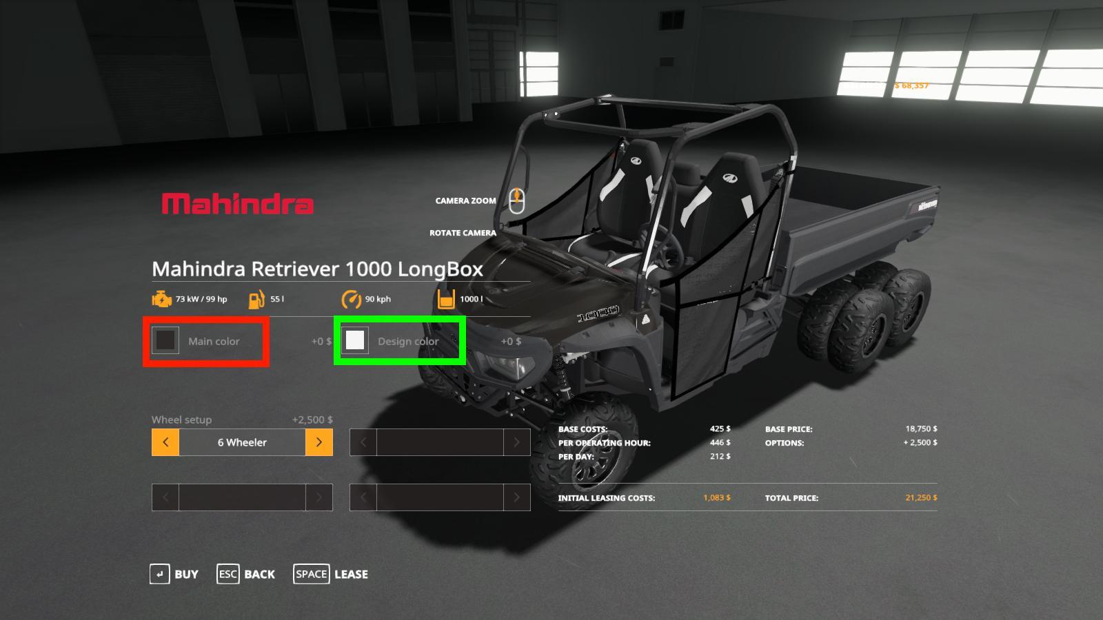 Mahindra Retriever Longbox Utility Color Edition V 1.0