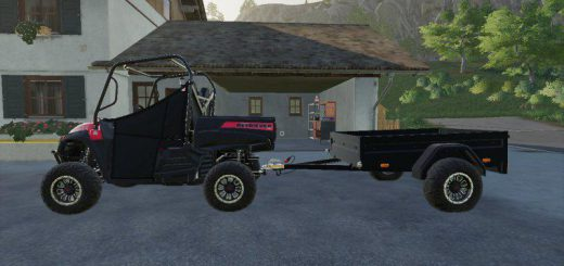 Mahindra trailer by LOWEL