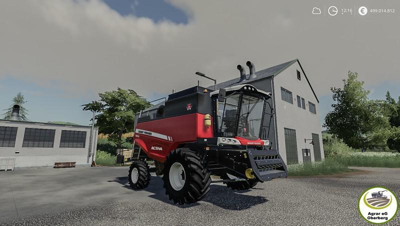 Massey Ferguson Activa 7347 By Agrar eG Oberberg