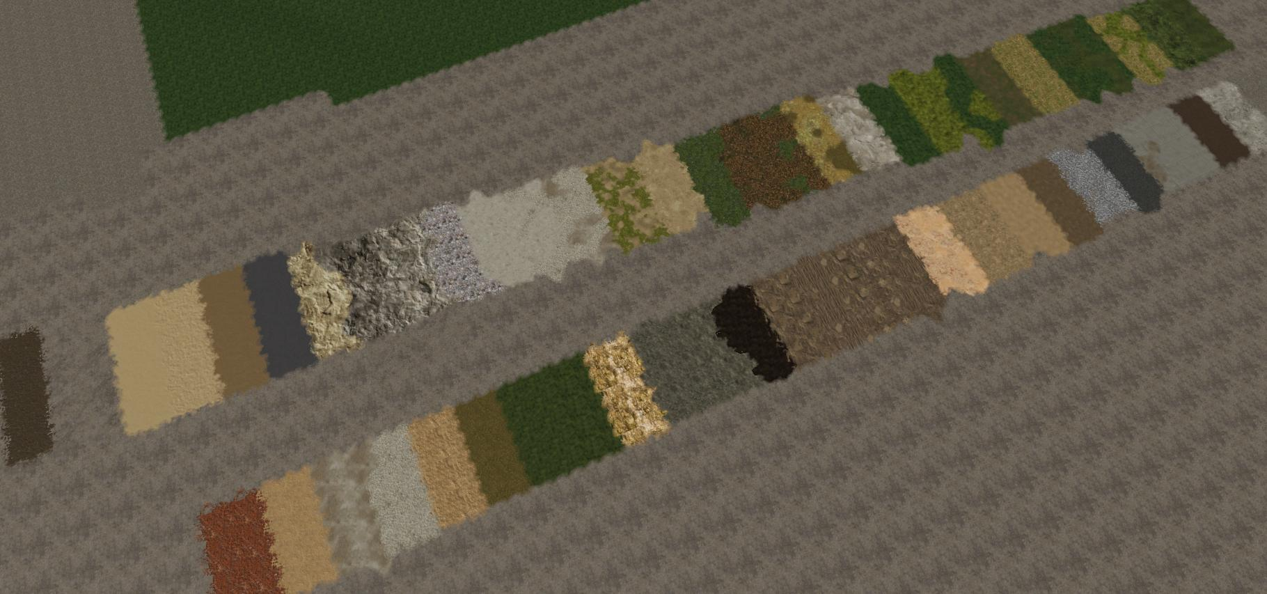 New Added Texture Layers For GE v 1.0