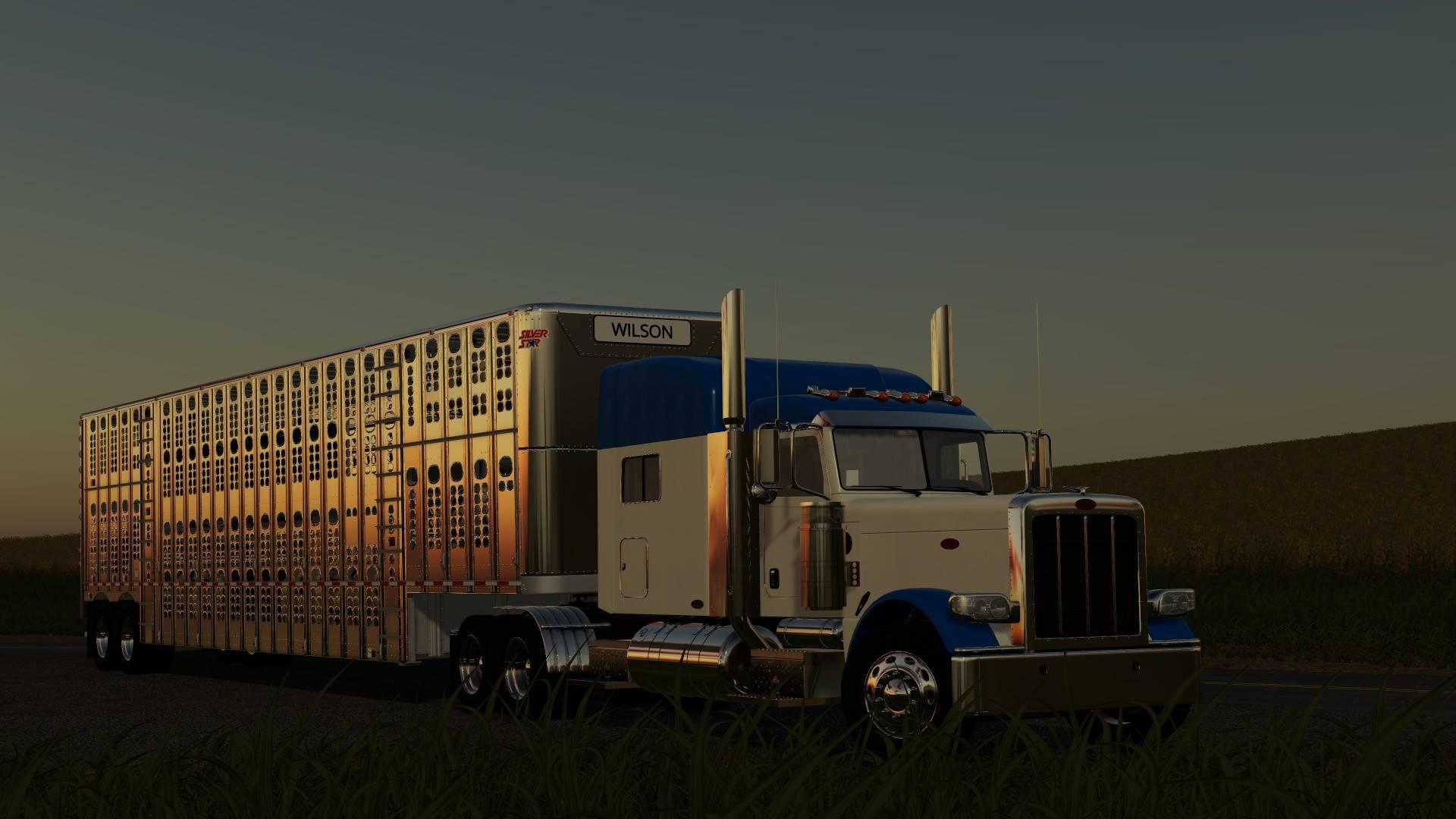 Peterbilt 389 2008 v 1 0   FS19 mods, Farming simulator 19 mods