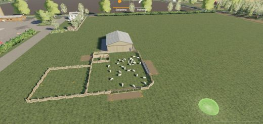 Placeable Sheep Fold v 1.0