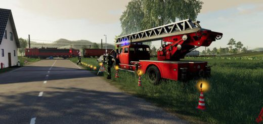 Placeable fire service with light and sound v 1.0