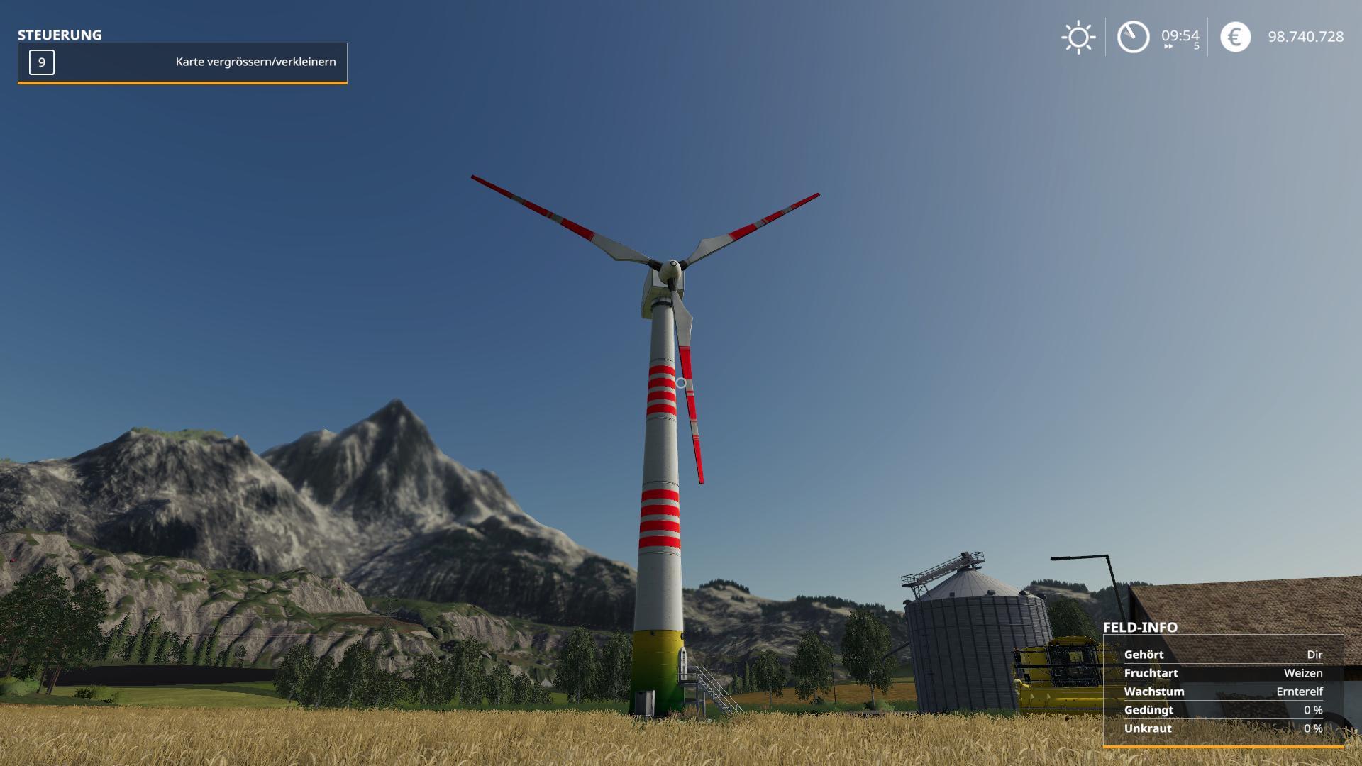 Platzierbare Windkraftanlage v 1.0