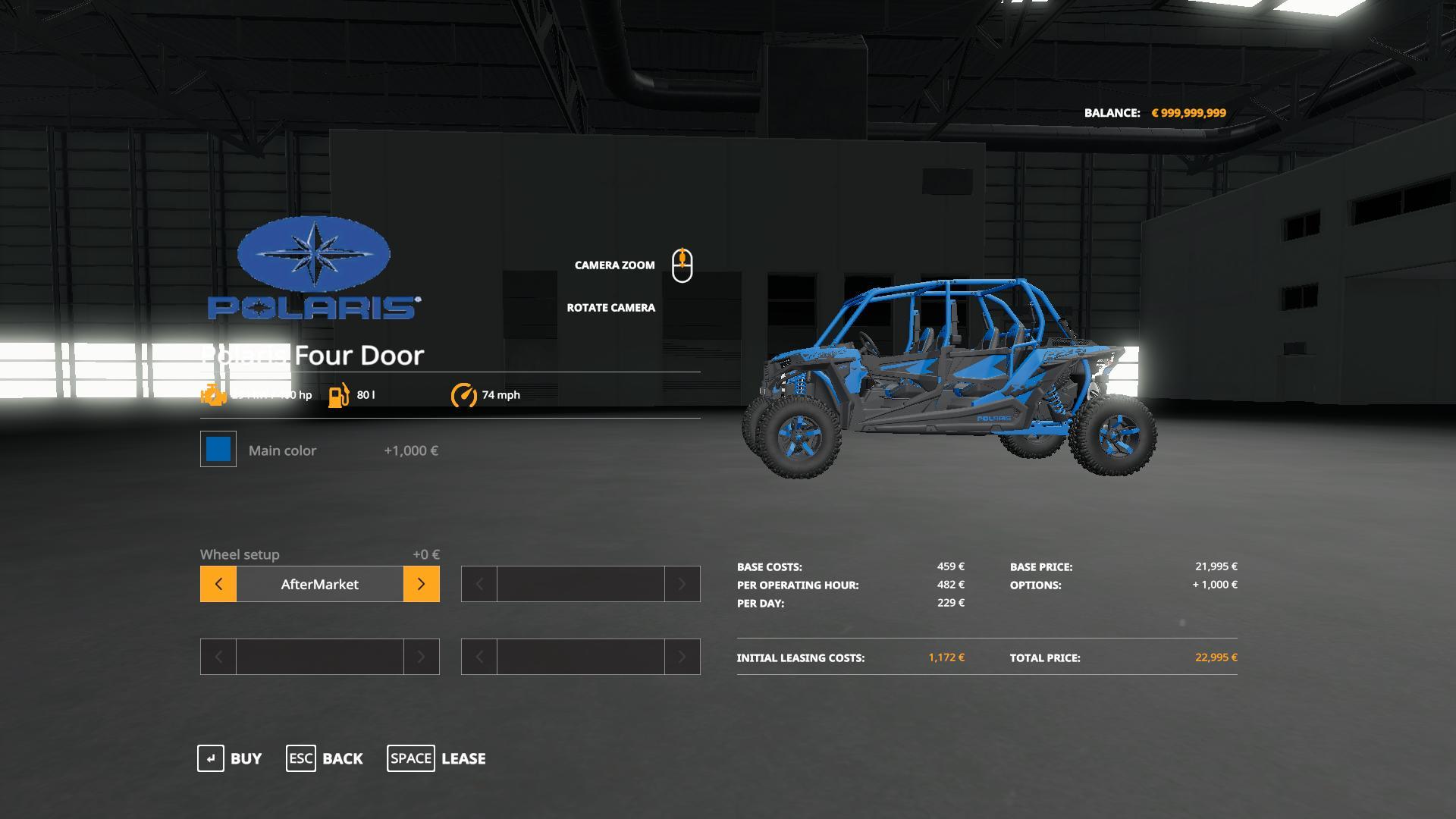 Polaris RZR Turbo 1000 v 1.0