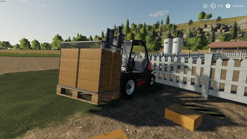 Purchasable Egg Pallet v 1 0 4 | FS19 mods, Farming