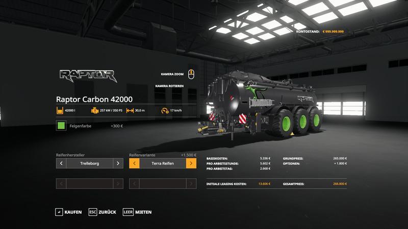 Raptor Carbon 42000 v 1.1