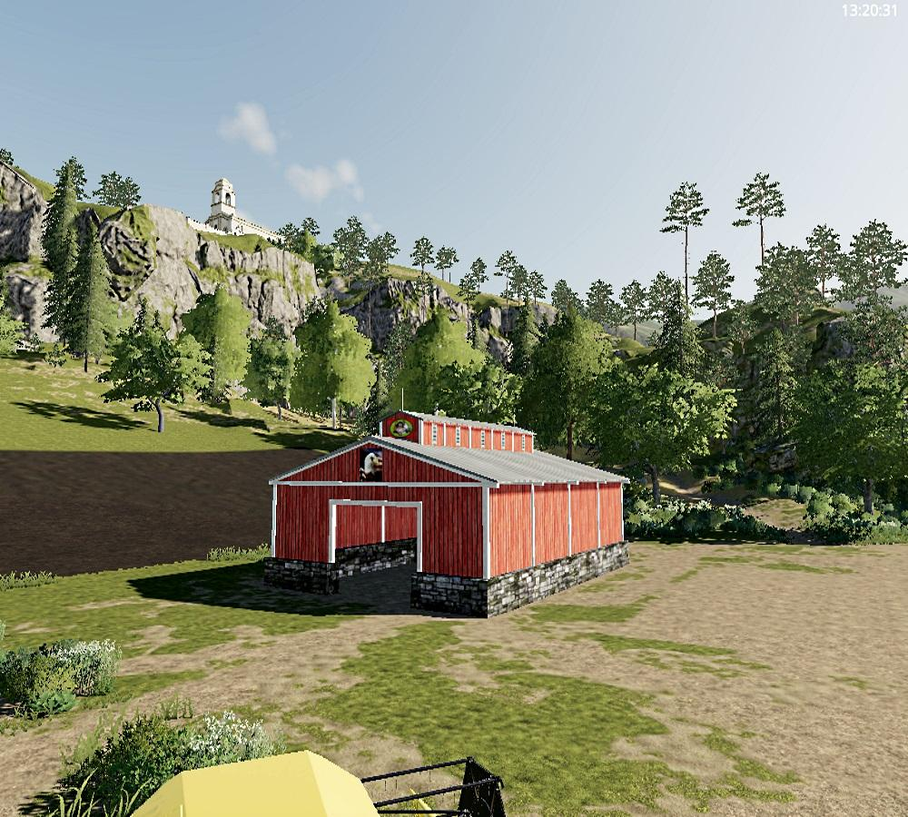 Small open ended storage barn v 1.0