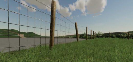 Stock Wired Fence Kit v 1.0
