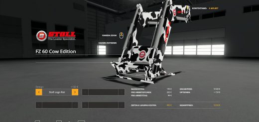 Stoll FZ60 Cow Edition v 1.0