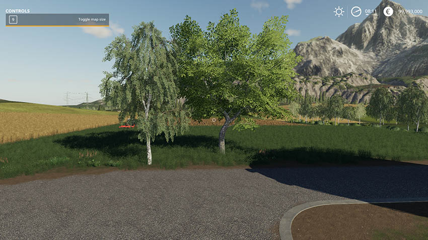 Two placeable trees v 1.0
