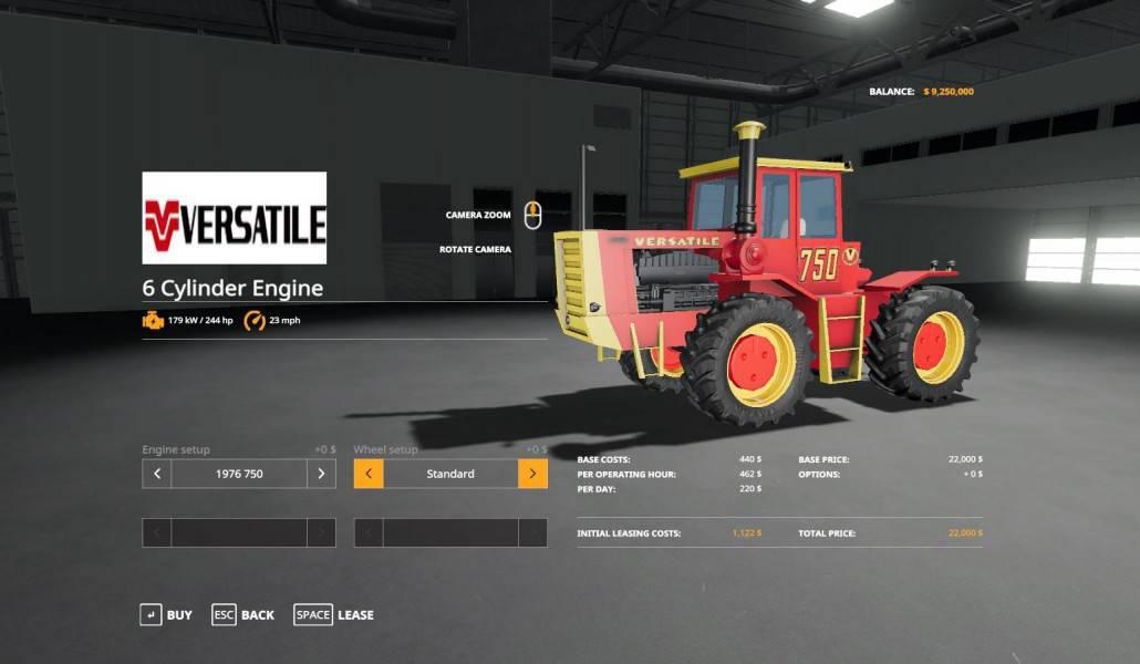 Versatile 6 cylinder series v 1.0