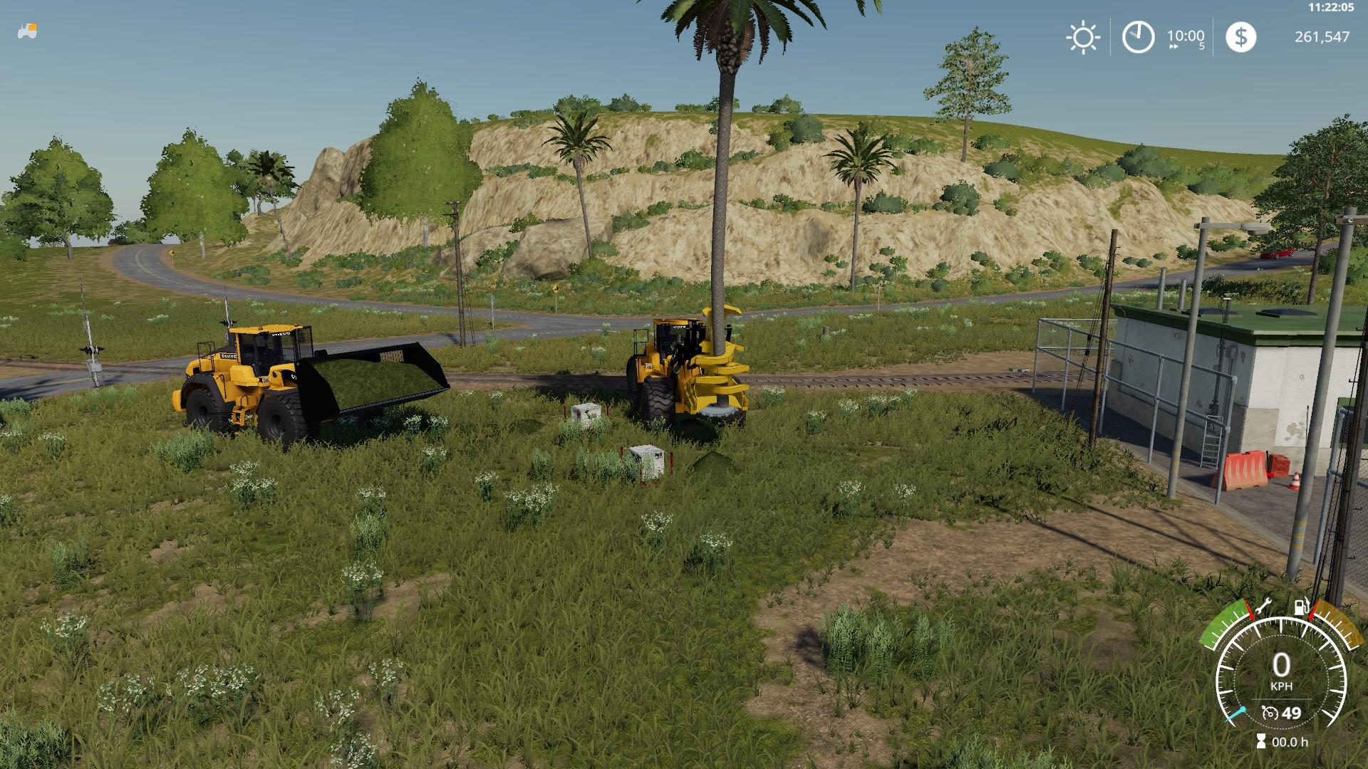 Volvo L220H with bucket v 1.0