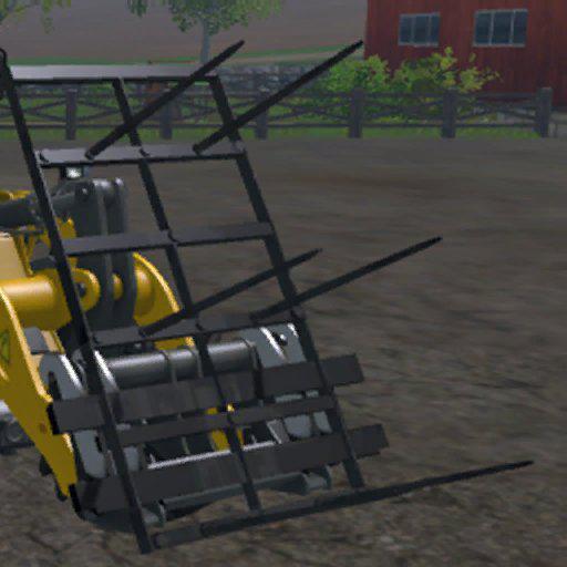 Wheel Loader Bale Fork v 1.0