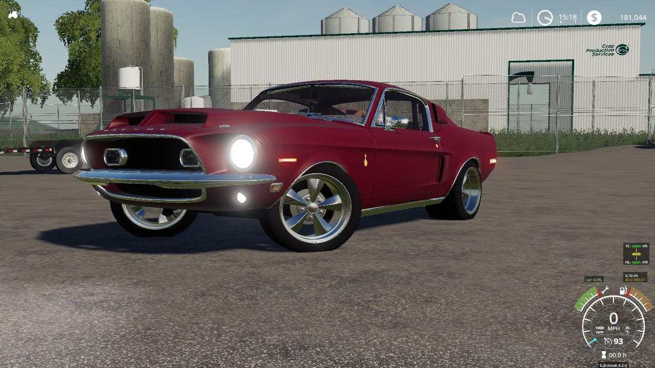 1968 Shelby Mustang V8 Flathead v 2.0
