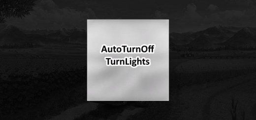 Auto turn off turn lights v 1.0