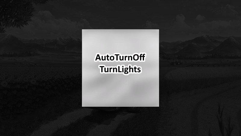 Auto turn off turn lights v 1.0