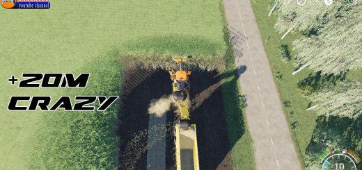 CASE Austoft 8800 +20m Sugarcane Harvester v 1.0