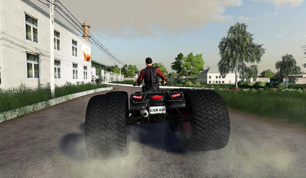 Can-Am Outlander XT 570 Tricky v 1.0.5