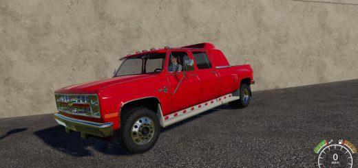 Chevrolet Silverado C30 Quad Cab Dually v 1.0