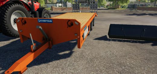 Chieftain low loader v 1.0