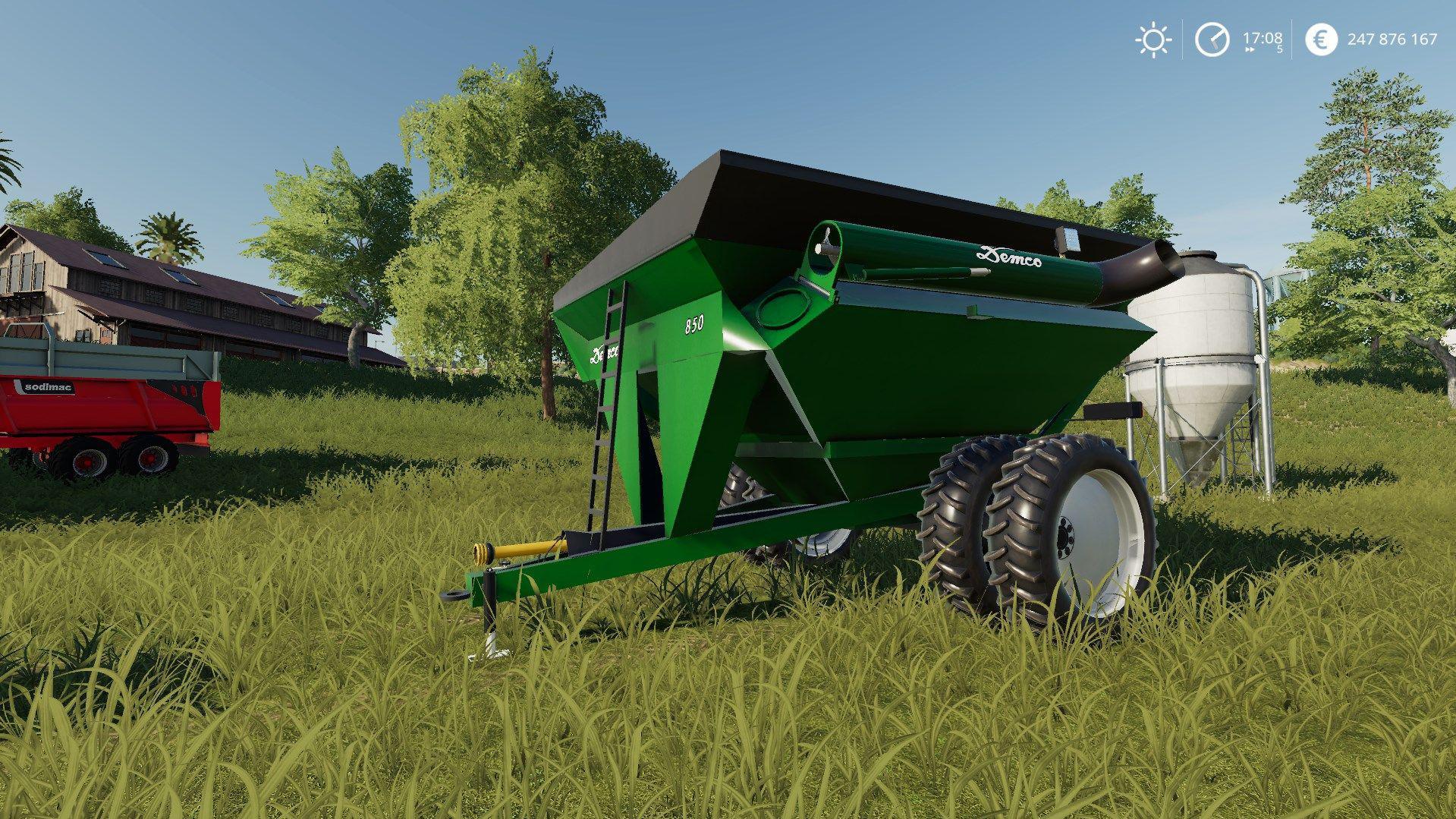 Demco 850 GrainCart v 1 0 | FS19 mods, Farming simulator 19 mods