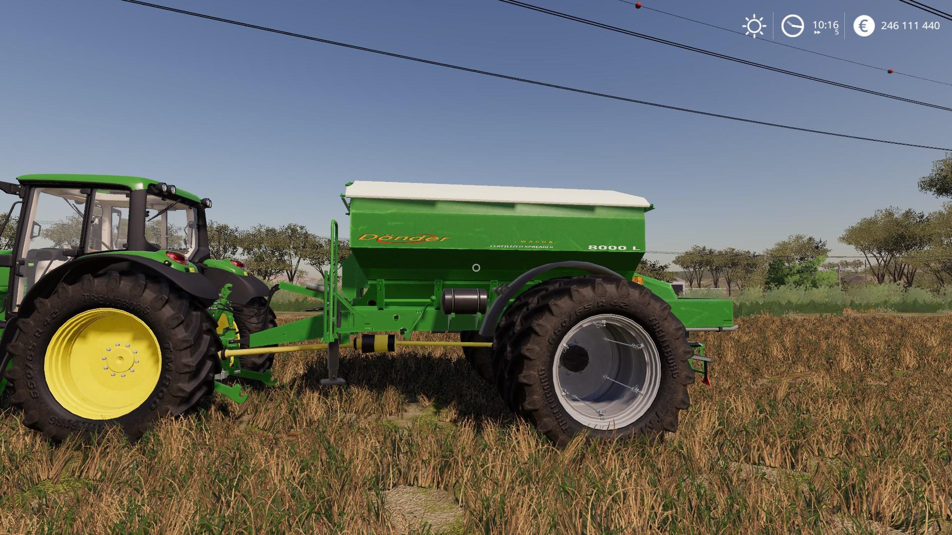 Donder Ferilized Spreader Wagon v 1.0
