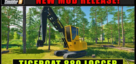 FDR Logging - Tigercat 880 v 1.0