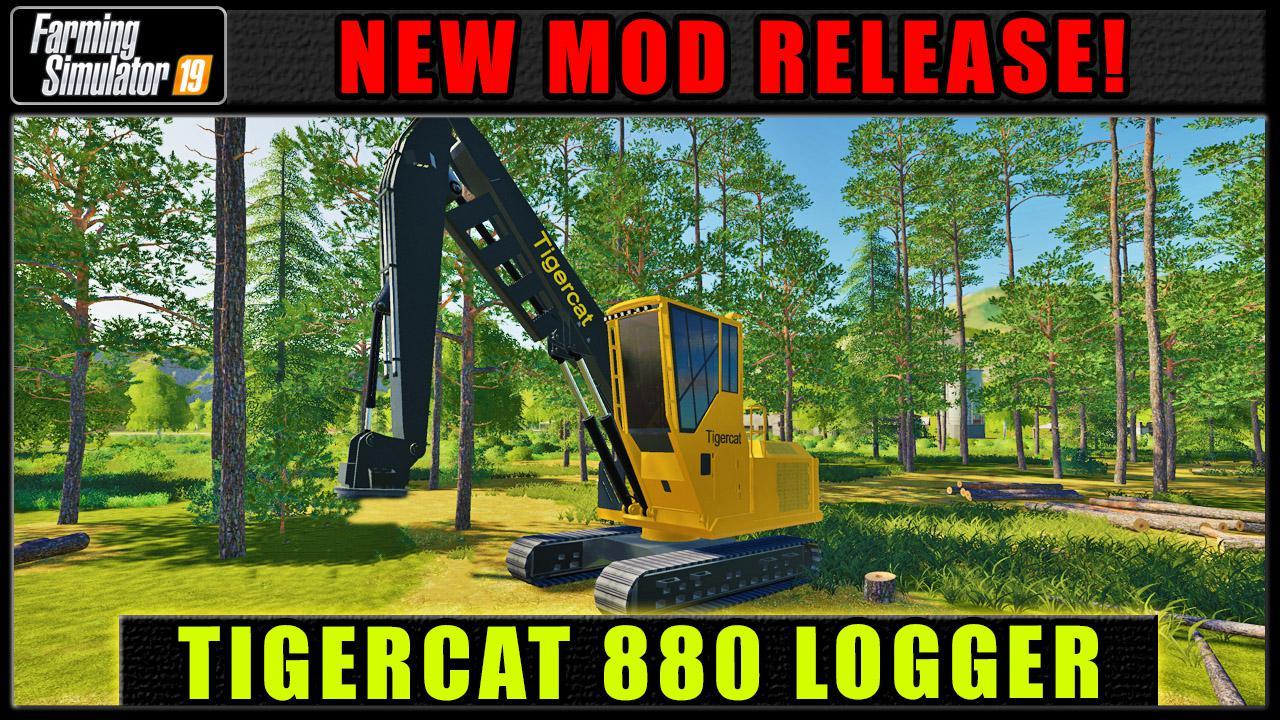 FDR Logging - Tigercat 880 v 1.0