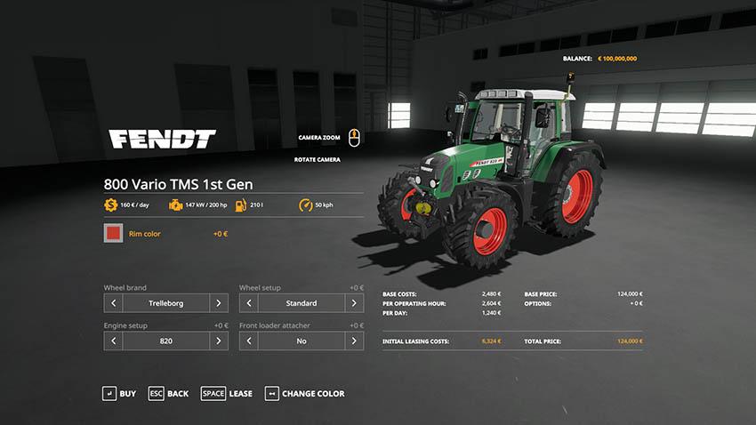 FENDT VARIO 800 v 2.0.0.9