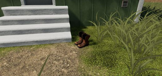 Farm Boots Placeable with sleep trigger v 1.0