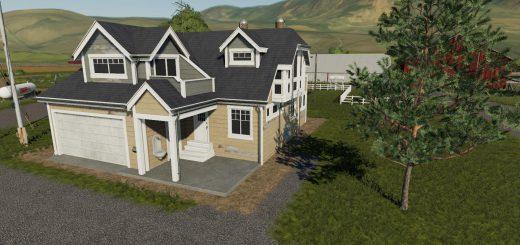 Farm house Placeable residential House 8 v 1.0