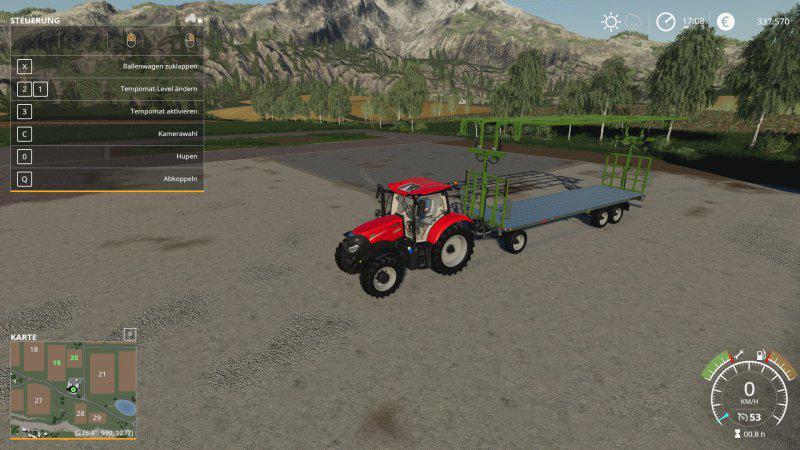 Fliegl dpw 210 v 1 0 | FS19 mods, Farming simulator 19 mods