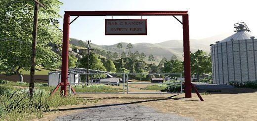 Gated farm entrance v 1.0