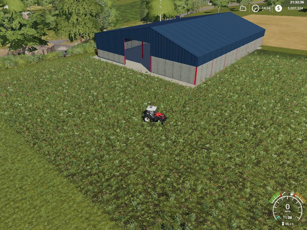 Grain storage shed v 1.0