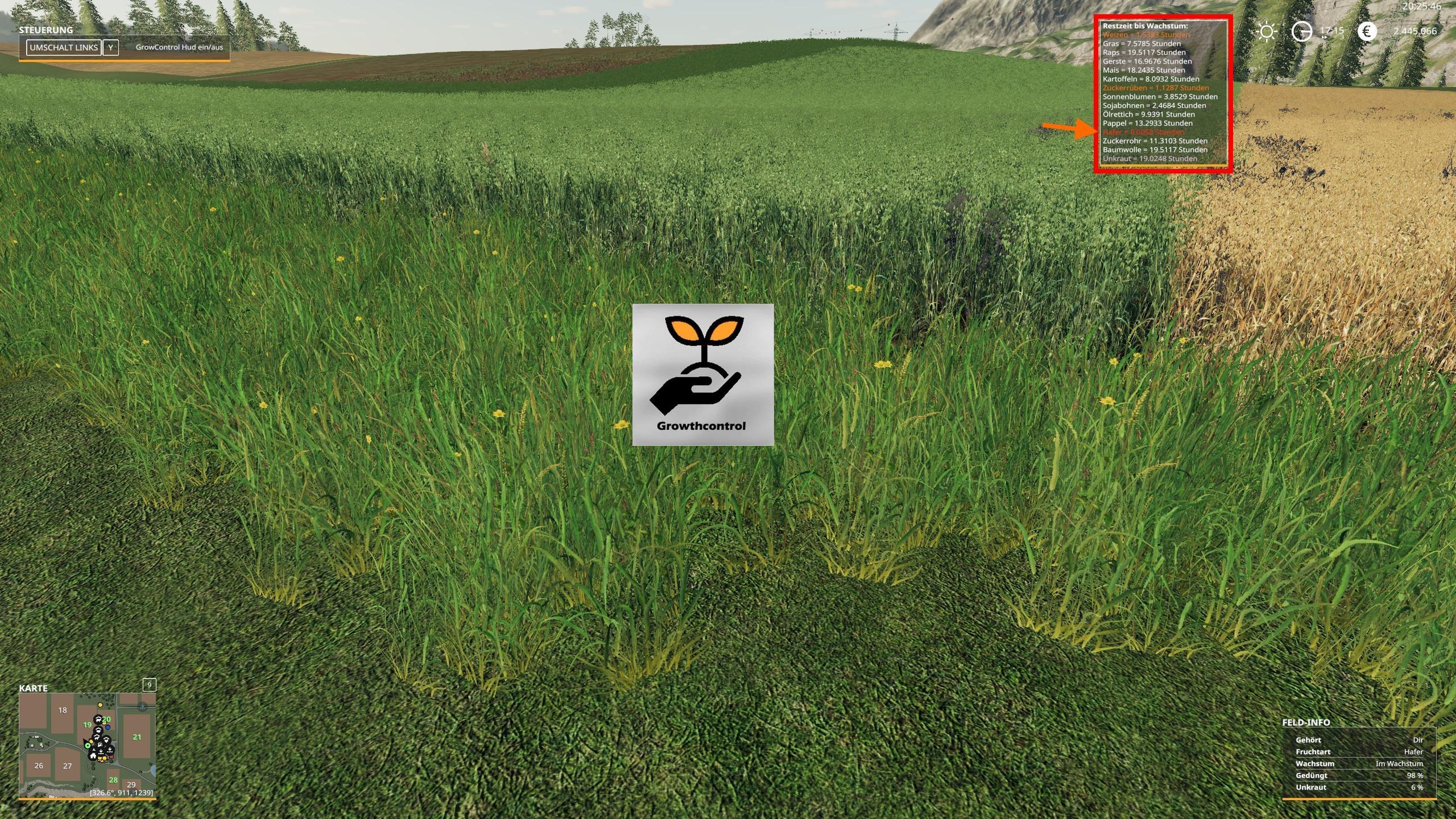 Growth Control v 1 0 | FS19 mods, Farming simulator 19 mods