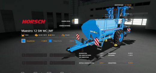 Horsch Maestro12SW MultiFruit Color v 1.0