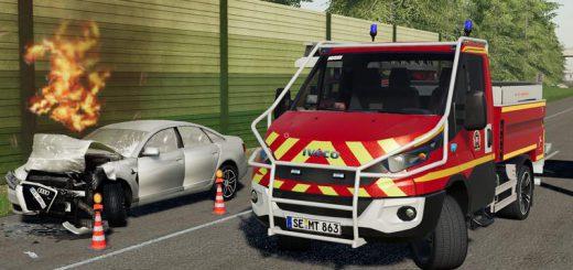 Iveco Daily (Feuerwehr Kaltenkirchen) v 1.0
