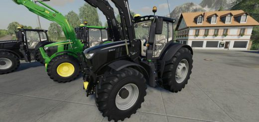 John Deere 6R + 643R Green + Black Pack v 1.0