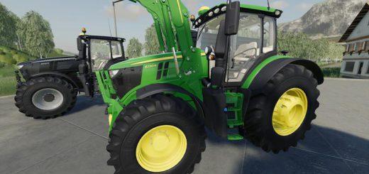 John Deere 6R Green Edition v 1.0.0.8