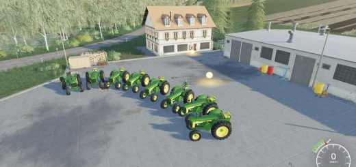 John Deere 80 series old v 1.0