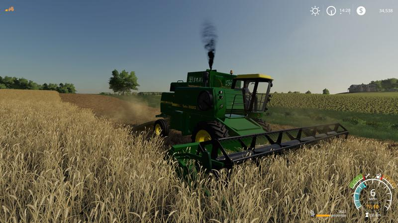 John Deere 8820 Turbo v 1 0 | FS19 mods, Farming simulator