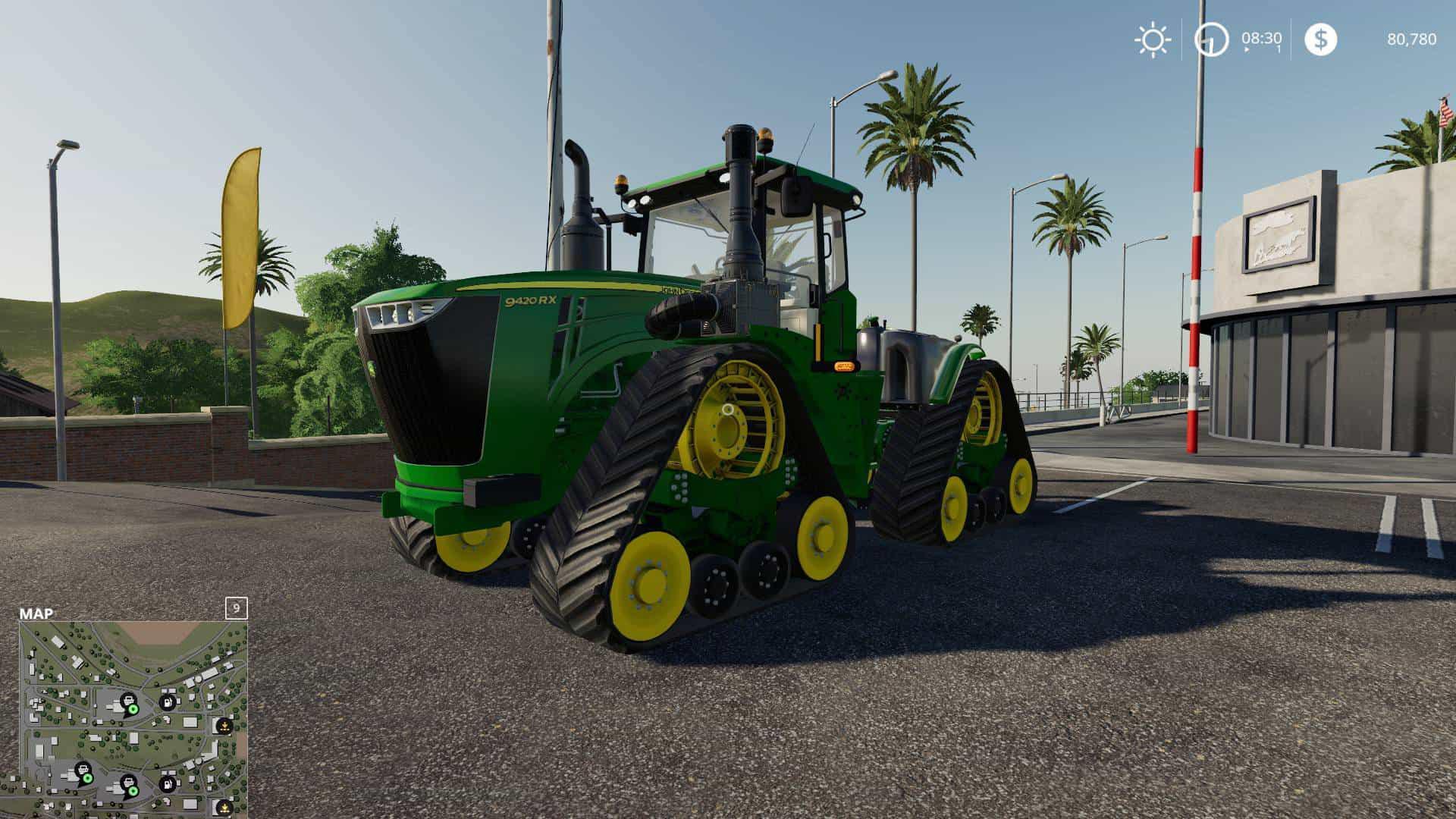 John Deere 9RX v 1 0 | FS19 mods, Farming simulator 19 mods