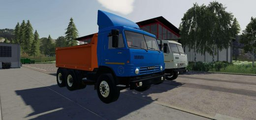 Kamaz 53212 plus semi trailer v 1.0