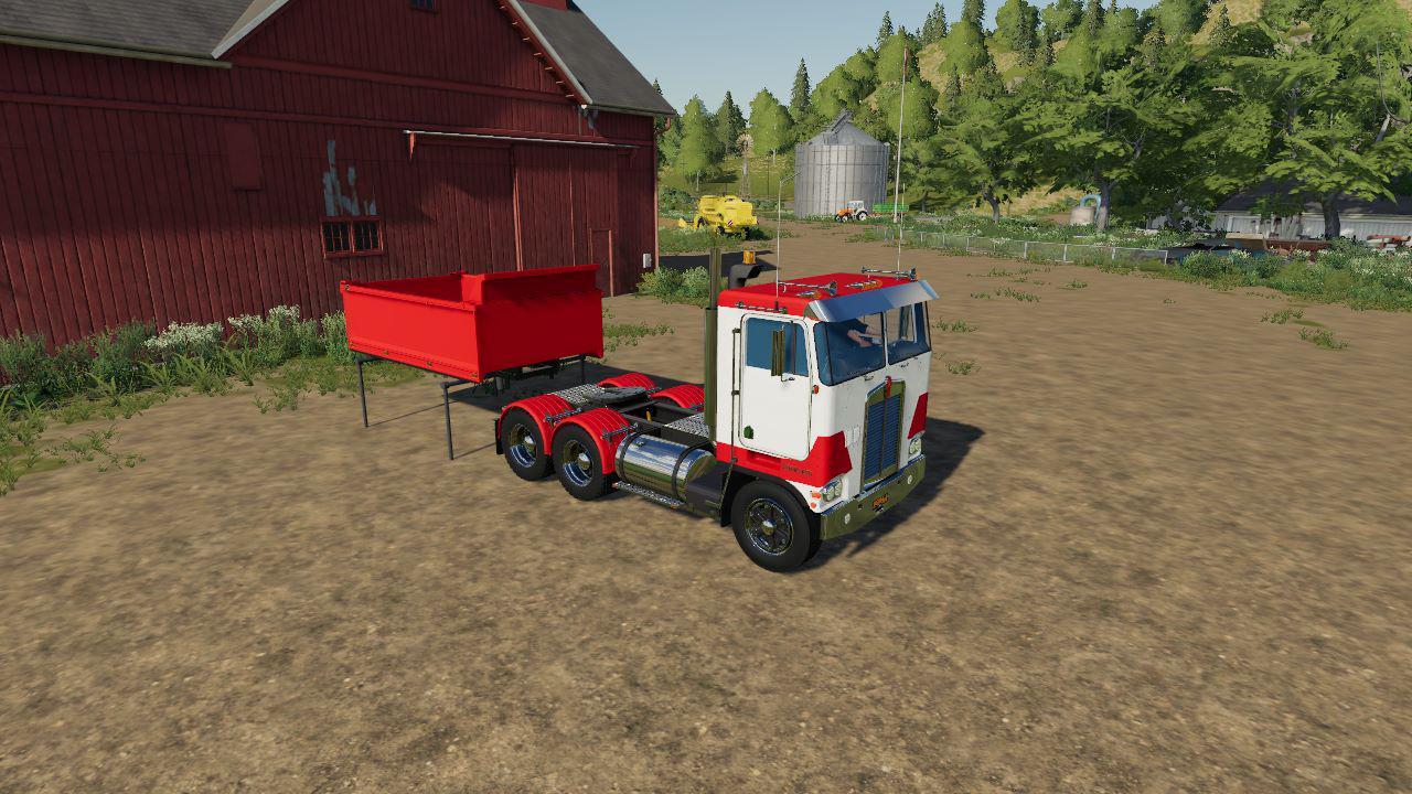 Kenworth K100 Daycab v 1.0   FS19 mods, Farming simulator ...Kenworth Dump Trucks Fs19