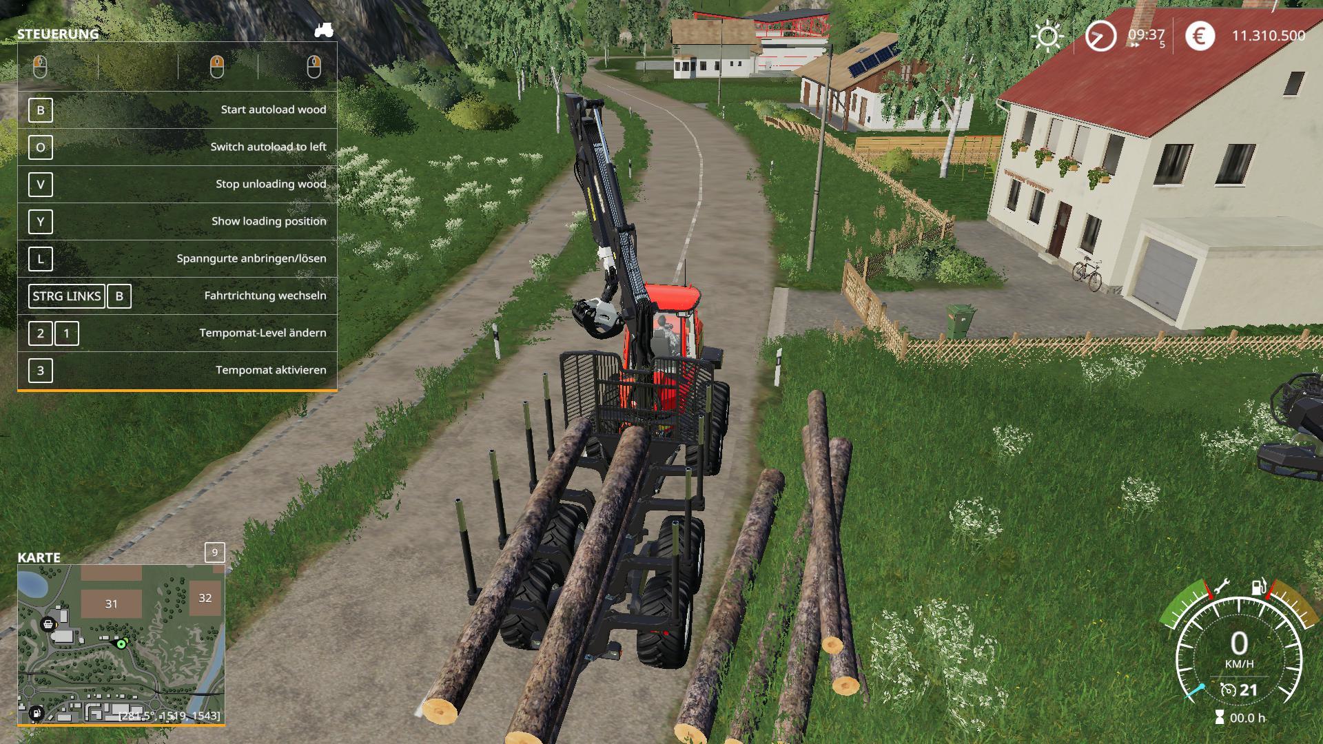 Komatsu 875 Autoload v 1.0